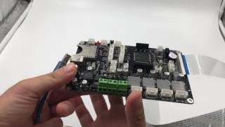 How to test Chitu Board well when you received the Chitu 3d printer Boards