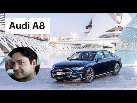 Обзор Ауди А8 - чем она круче Мерседеса? / Audi A8 2018 - тест-драйв
