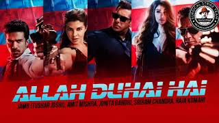 Allah Duhai Hai audio song - Race 3 | Salman khan | amit,jonita gandhi,Sreerama , raja | sst