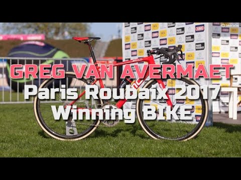 Greg Van Avermaet Paris Roubaix 2017 Winning BIKE - NotiCiclismo ... c68db10ff