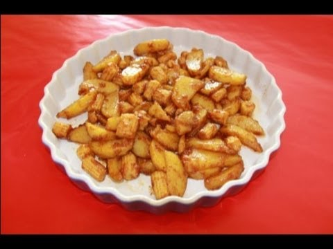 Sweet and Spicy Potatoes - a Snack