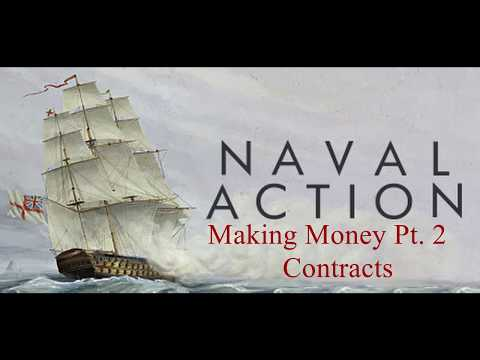 Naval Action Beginner Tutorials: Ep. 5 Making Money Pt. 2 Contracts