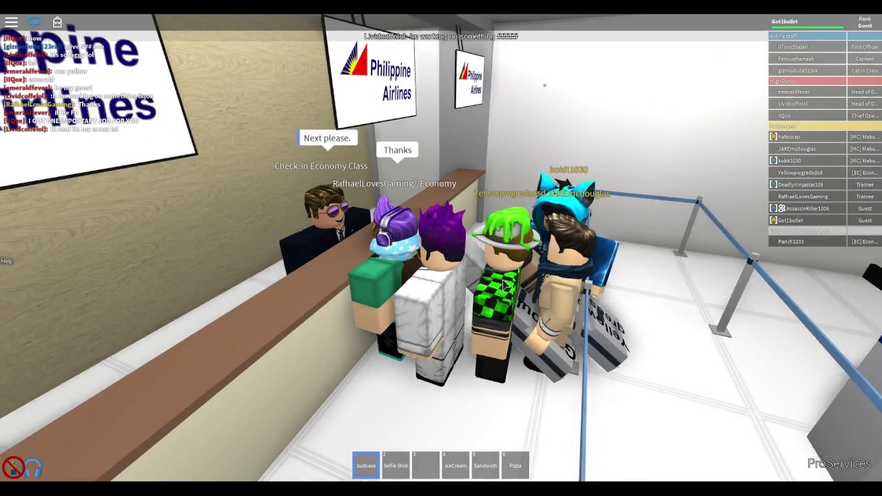 Roblox Flight With Philippine Airlines Youtube