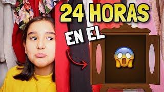 24 HORAS EN EL ARMARIO 😱 - Gibby :)