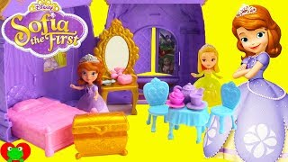 Disney Princess Sofia The First Castle Bedroom Surprises