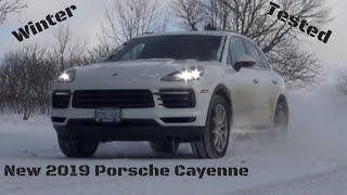 All-New 2019 Porsche Cayenne - Winter Driven!