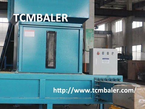 TCM BALER- wood chips compress compactor Bangladesh  Gobon  Seychelles