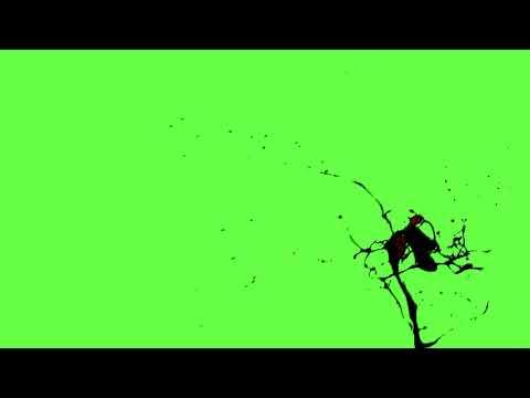 Free 4K Green Screen -  Body Blood Splash Effects
