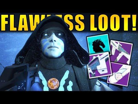 Destiny 2: TRIALS OF THE NINE FLAWLESS LOOT!