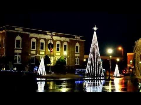 Christmas Light Show Amazing Grace