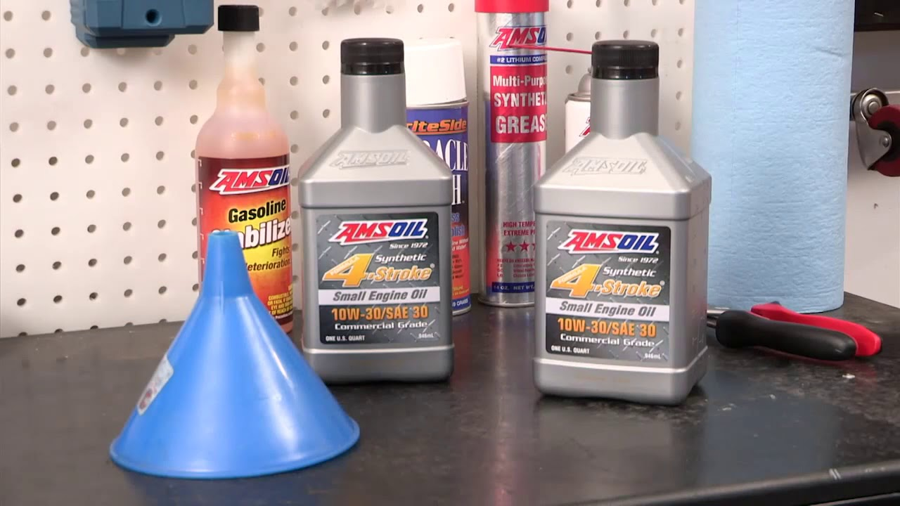 AMSOIL 10W-30 Synthetic Small Engine Oil - Commercial Grade