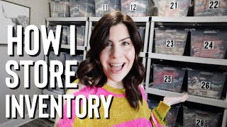 Inventory Storage & Organization Tour | Online Resale Business