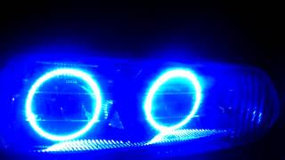 "02"" Buick Century Custom Blue LED Oracle Halo's"