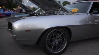 1969 Grey Camaro - Morris Car Show