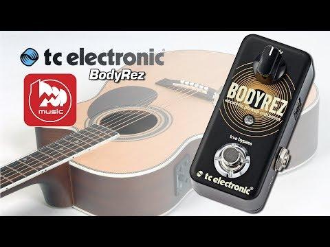 TC ELECTRONIC BodyRez - как улучшить звучание вашей электроакустики