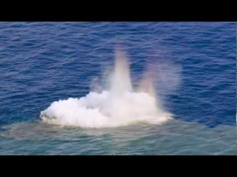 Underwater Active Volcano
