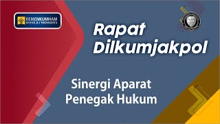 Rapat Kolaborasi Dilkumjakpol Plus 2019