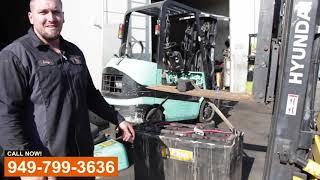 Forklift Battery Repair Replace