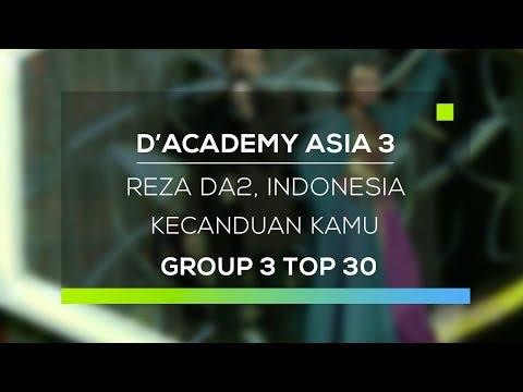 D'Academy Asia 3 : Reza DA2, Indonesia - Kecanduan Kamu