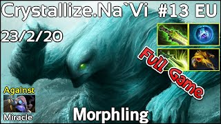Crystallize NaVi Morphling - Dota 2 Full Game 7.17