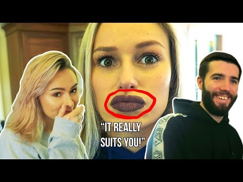 I applied BAD MAKEUP to see how HONEST my friends are! *GONE WRONG*