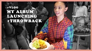 Album Launching sambil Curcol #Throwback - NAURA TV | Vlog