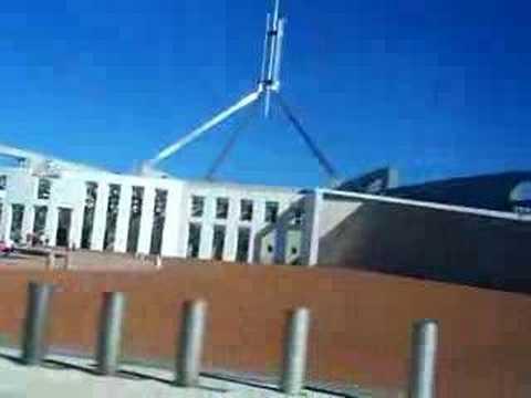 Surrounding Australian Parliament