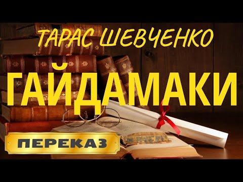 ГАЙДАМАКИ. Тарас Шевченко