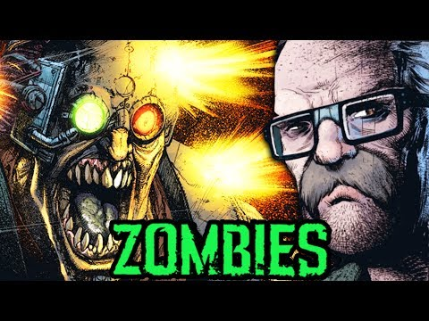 TRANZIT CREW NEARLY KILLED BY CYBORG ZOMBIES! (NEW BO3 Zombies Comic #5)