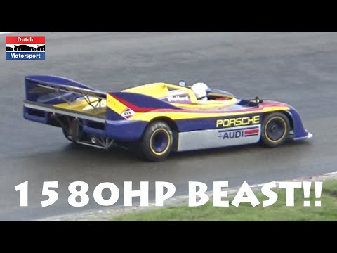 1580HP Porsche 917 TWIN-TURBO Can-Am! - Historic Grand Prix 2016 Zandvoort | Most POWERFUL racecar