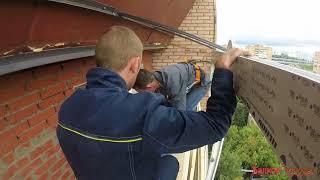 Остекление и ремонт лоджии под ключ на последнем этаже  (От А до Я)(, 2017-09-25T15:18:09.000Z)
