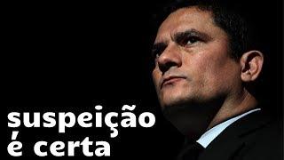 Sergio Moro vai ser considerado suspeito, última Vaza Jato comprova
