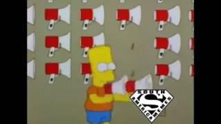 Ô xanaína - Bart simpson megaphone