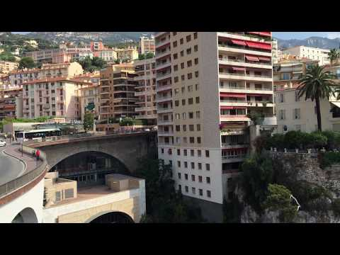 Gare de Monaco and Port Hercule
