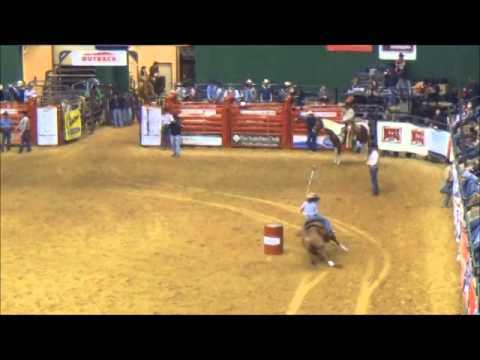 Dixie National Rodeo Barrel Racing Jackson Mississippi