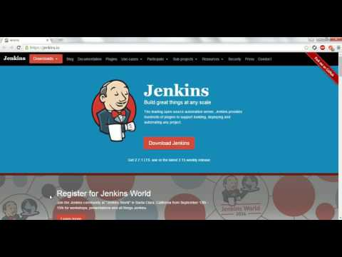 Jenkins Tutorial - What is Jenkins and Installing Jenkins setup as Windows service