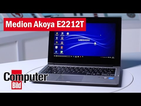 Medion Akoya E2212T: Aldi-Notebook im Test