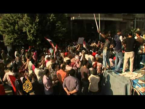 Egyptians Demand Retribution For Policemen Killed By Israel