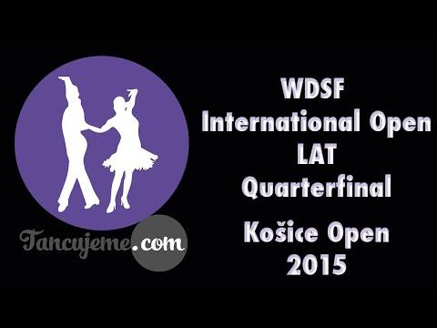 Košice Open 2015│WDSF IO Latin│Quarterfinal