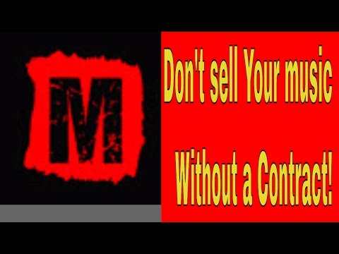 Should I Sell My Music with No Contract Even with Copyright?
