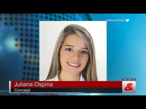 Resultado de imagen para Juliana Ospina, Candidata a la Alcaldìa de Sant Rosa de Cabal
