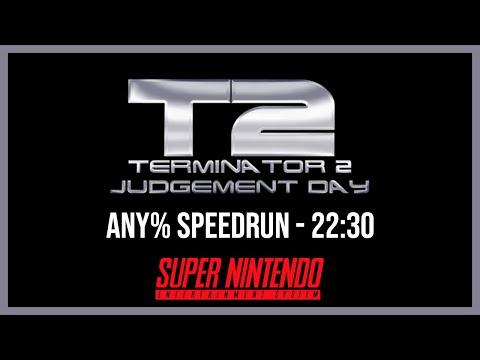 [World Record] Terminator 2: Judgment Day (SNES) Speedrun - 22:30