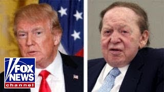 Trump mulls funding assist from Adelson for embassy move
