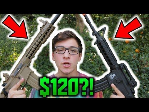 BEST AIRSOFT GUNS UNDER $120?!?! | BEST BANG FOR YOUR BUCK!!!