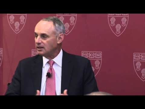 A Conversation with Major League Baseball Commissioner Rob Manfred '83