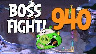 Angry Birds 2 Boss Fight 132! King Pig Level 940 Walkthrough - iOS, Android