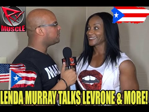 Lenda Murray Talks About Levrone & More! - YouTube