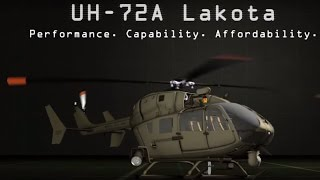 EADS North America - UH-72A Lakota Helicopter With S&S Battalion Mission Package [720p]