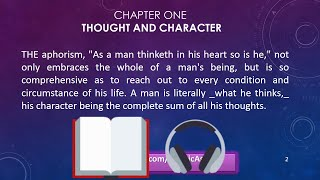 As A Man Thinketh By James Allen Full Video / Audiobook