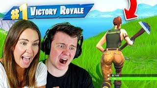 Teaching My Sister to Play Fortnite